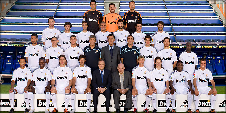 foto oficial plantilla real madrid 2009 2010 Plantilla Real Madrid